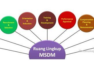 Pengertian Manajemen Sumber Daya Manusia (MSDM) dan Ruang Lingkupnya