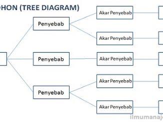 Pengertian Diagram Pohon (Tree Diagram) dan Cara Membuat Diagram Pohon