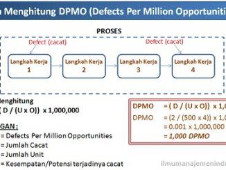 Pengertian DPMO (Defects Per Million Opportunities) Six Sigma dan Cara Menghitungnya