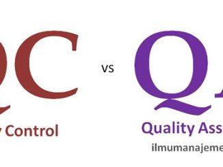 Pengertian Quality Control dan Quality Assurance (QC dan QA) beserta perbedaannya