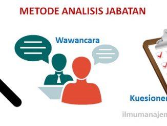 Metode Analisis Jabatan (Job Analysis Methods)