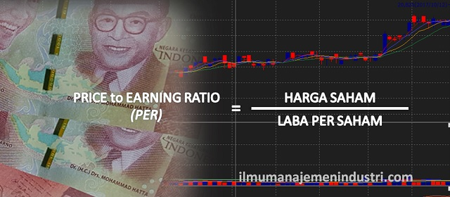 Pengertian PER (Price to Earning Ratio atau rasio harga terhadap pendapatan) dan Rumus PER