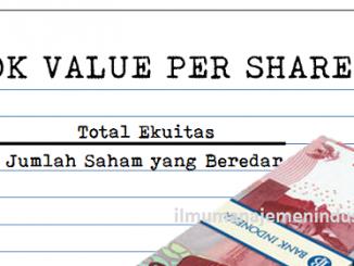 Pengertian Book Value per Share (BVPS) atau Nilai Buku per Saham dan Rumus BVPS